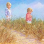 Playing in the Sand Dunes